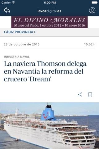 La Voz Digital de Cádiz screenshot 2