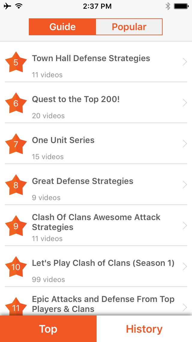 Screenshots of Free Gems Cheats For Clash of Clans, COC Guide for iPhone