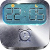 iClock – Metallic : Alarm Clock Wallpapers ,  Frames and Quotes Maker For Pro