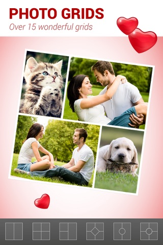 Love Collage - Photo Editor screenshot 2