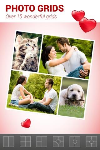 Love Collage - Photo Editor screenshot 2