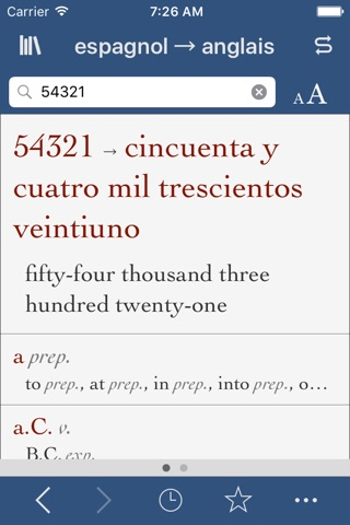 Spanish-English Translation Dictionary and Verbs screenshot 3