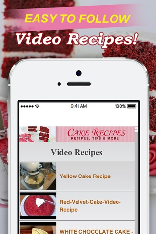 Cake Recipes! screenshot 3