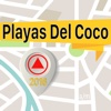 Playas Del Coco Offline Map Navigator and Guide