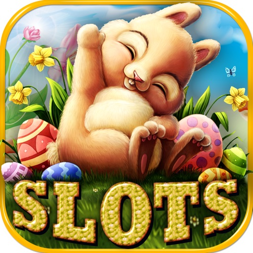 Easter Bunny Slot Machine Casino - Lucky Eggs Hunt iOS App
