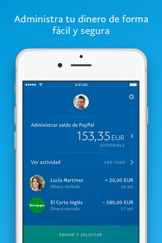 PayPal: Mobile Cash screenshot 1