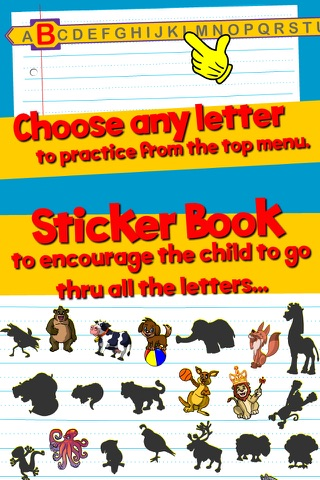 Learn ABC and alphabet thru trace game, flash cards and song. screenshot 4
