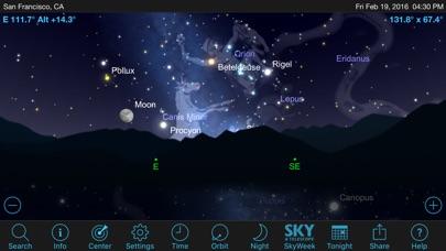 Screenshot SkySafari 5