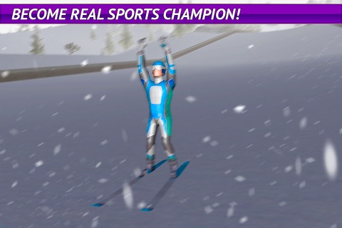 Ski Jumping Freestyle 3D screenshot 4