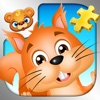 123 Kids Fun PUZZLE GOLD Free - Sammlung von digitalen Schiebepuzzles für Kinder im Vorschulalter