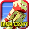 IRON CRAFT ROBOT - Survival Hunter Block Mini Game with Multiplayer