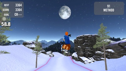 Crazy Snowboard Pro screenshot1