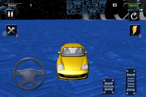 3D HD Car Extreme Racing Stunt Simulator screenshot 1