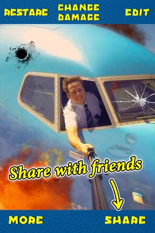 Damage Photo Editor PRO - Prank Effects Camera & Hilarious Sticker Booth screenshot 2