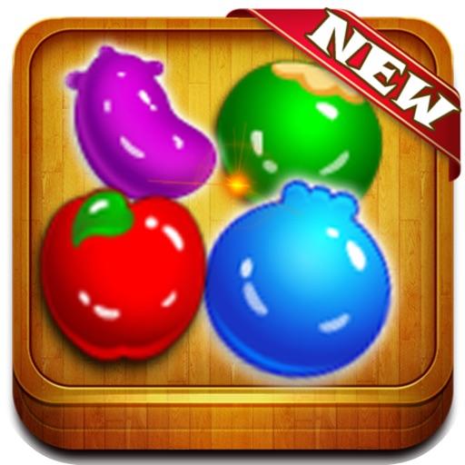 Farm Fruit Splash Puzzle Mania iOS App