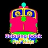 Coloring Book Kids for Chuggington Trains Edition