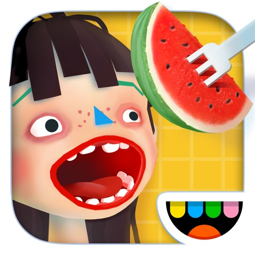 Toca Kitchen 2 app for ipad
