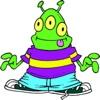 Alien Green High Jump