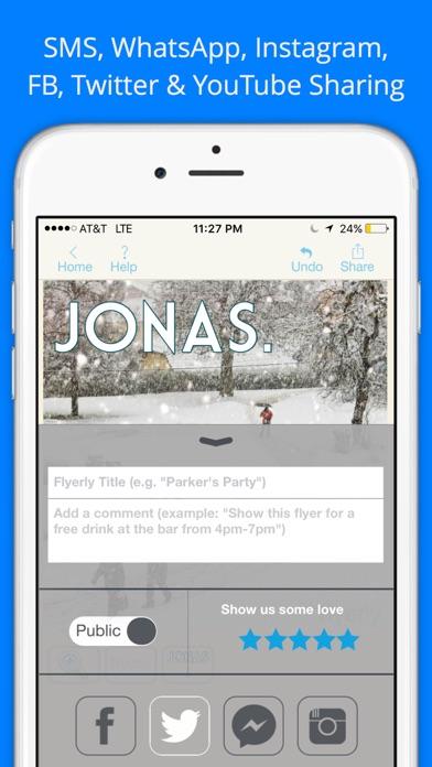 create flyers app