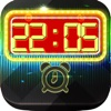 iClock - Neon Lights : Alarm Clock Wallpapers ,  Frames & Quotes Maker For Pro