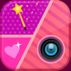Girly Collage Photo Editor - Scrapbook Maker for Stitching Pics