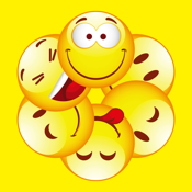 Emoticon.s Free & Emoji Keyboard icons & Animated Emojis Stickers for Chatting icon