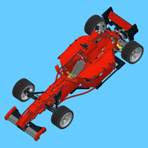 Ferrari Racer For Lego Technic 8070 Set Building Instructions