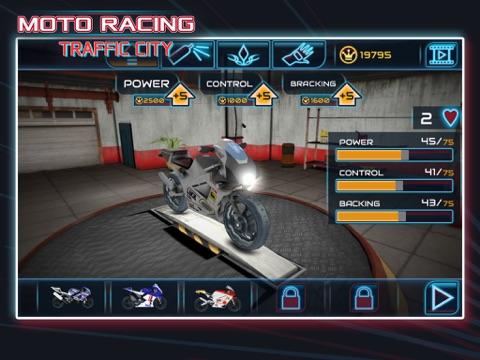 Скачать Moto Racing: Traffic City