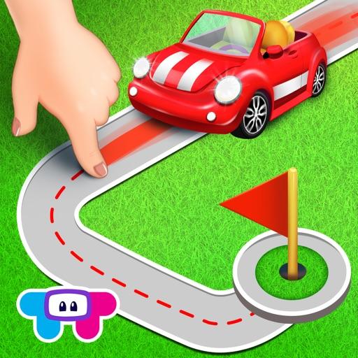ミニロード - 子供向け自動車パズル