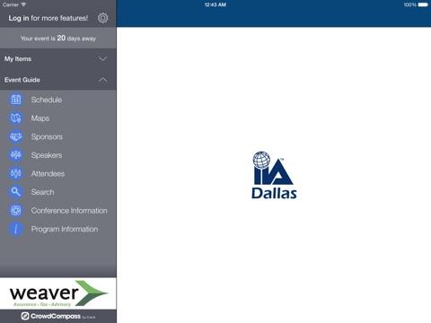 Screenshot of Dallas IIA