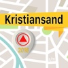 Kristiansand Offline Map Navigator and Guide