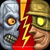Shooting Battle Fighting - 2 Double Shot to Zombie By Commando Guns In Highway