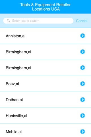 Tools & Equipment Retailers Locations USA screenshot 2
