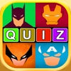 Superhero Word Pic Quiz - super heroes trivia featuring movie & comic icon star