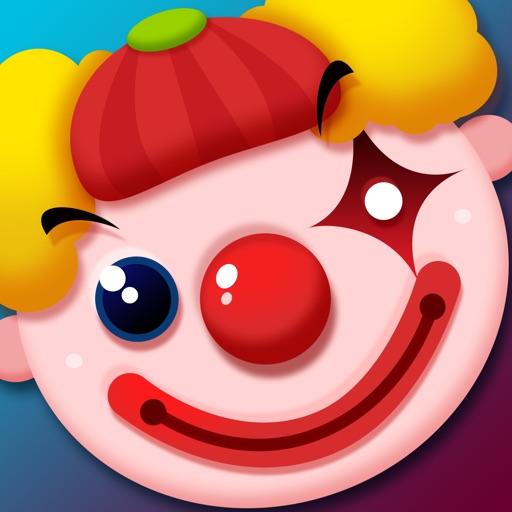 US Clown Safari - Doodle Blitz Game Icon