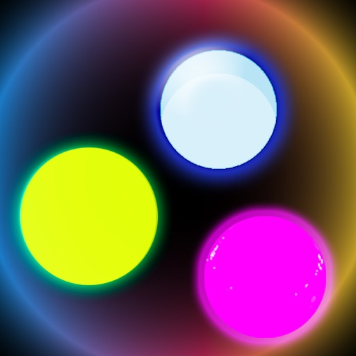 Glowing Circle Fall-out unstopable Falling ball jump Adventure iOS App