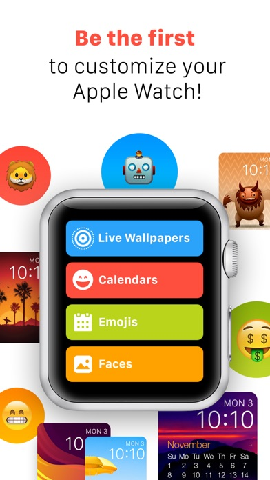 iFaces - Custom Themes and Faces for Apple Watch Screenshot