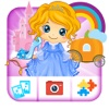 Princess Kids Puzzle Games and Photo Frames for Girls