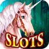 Slots Enchanted Forest - Unicorn & Elf Queen Riches: Vegas Fantasy Slot-Machines