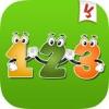 學習號碼 - 教育遊戲為孩子們在幼兒園幼兒和嬰兒英文免費