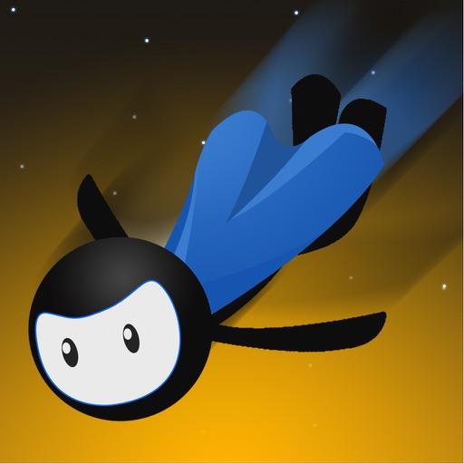 Flying Stickman Wingsuit Challenge Game iOS App