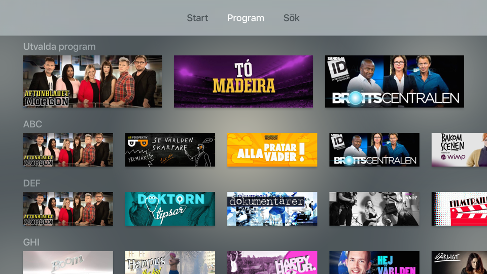 Apple TV screenshot