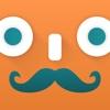 Mustache Free –stacheify yourself!