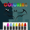 Coloring Kids Game for Lego Batman Version