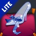 Cinderella. Coloring book for children Lite icon