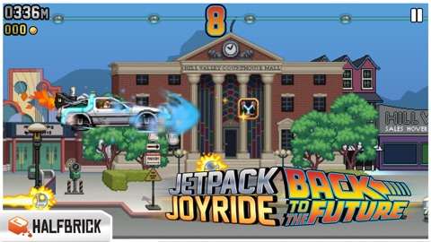 Screenshot #11 for Jetpack Joyride
