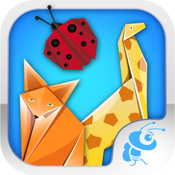 Art Of Origami Kids Educational Games icon