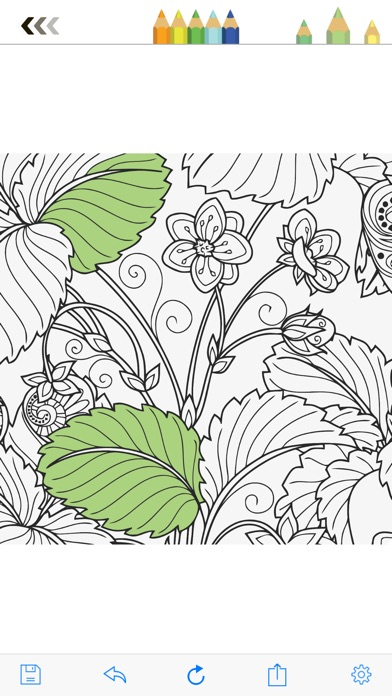 iphone screenshot 2 - Best Coloring Books For Adults