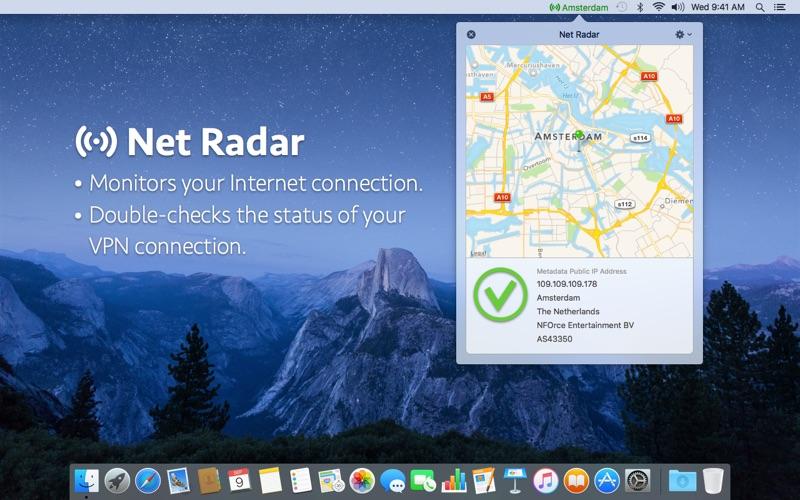 Net Radar Screenshots