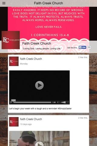 Faith Creek Church screenshot 2
